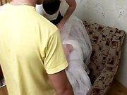 Групповое порно с невестой